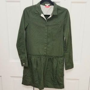 Crewcuts Dresses - CREWCUTS Military Style Shirt Dress - NEW